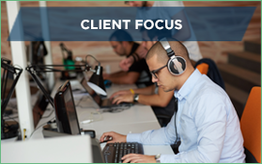 Customer service - Client focus