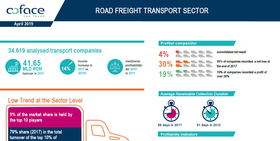 Road freight transport sector